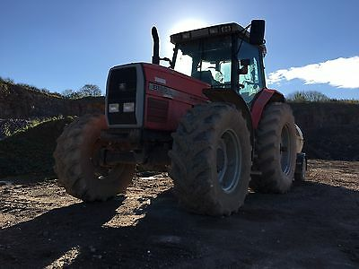 Massey Ferguson 8130 Tractor With Low Hours!