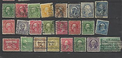 United States old stamps super mix early issues defins old stamps USA