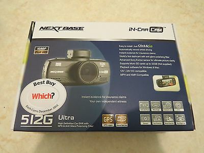 Nextbase 512G Ultra In Car Dash Camera Recorder New Boxed Unused Top Quality