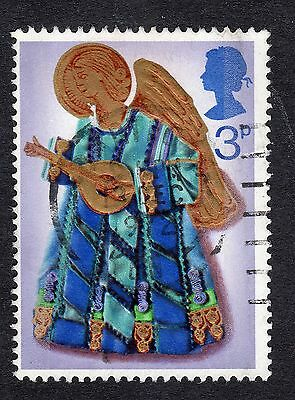 1972 3p Angel playing lute SG 914 FINE USED R18760
