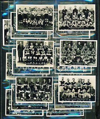 20 x SOUTHERN FOOTBALL TEAMS – ARDATH PHOTOCARDS (SERIES F) – 1936
