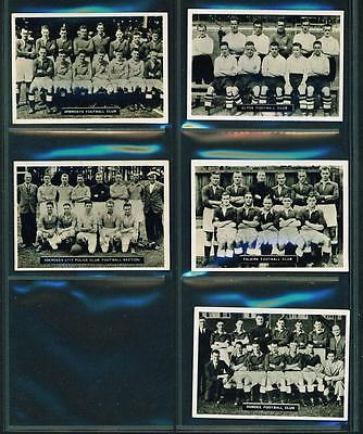 5 x SCOTS FOOTBALL TEAMS – ARDATH PHOTOCARDS (SERIES D) – 1936