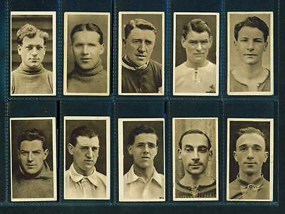 11 x FAMOUS FOOTBALLERS – HILL – 1923