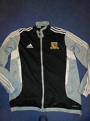 Mens Football Training Top / Tracksuit Top - Hull City Afc, Sized L (38/40)