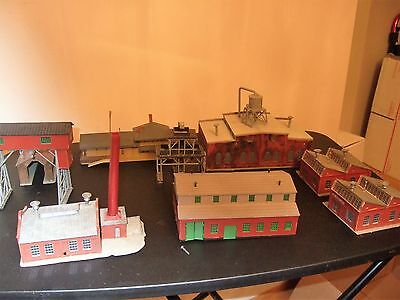 N Scale Factories And Warehouse Building For Train Layout