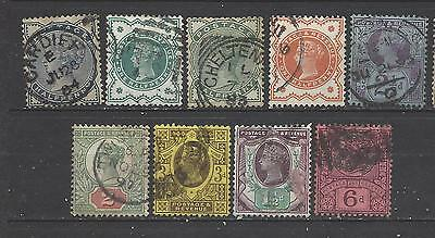 British Queen Victoria collection of old stamps great mix of values GB