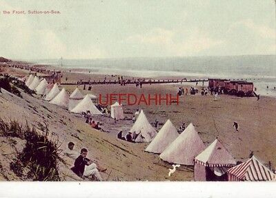 1910 England. - On The Front, Sutton-On-Sea