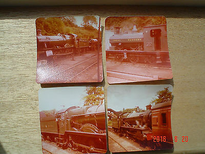 Photographs x 8 Severn Valley Railway 1980 Various Loco's Wrongly Exposed