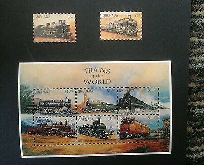 Grenada 1996Trains of the World