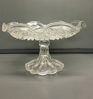 Beautiful Vintage Cake Stand Cut Glass Afternoon High Tea *Christmas Gift*