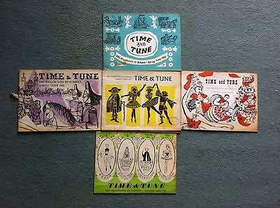 Time And Tune 1957 To 1961 5 Books