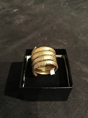 Ancient Viking Man's Coil Ring 866-1067A.D.