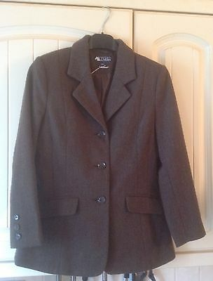 """Dublin Brown Wool Tweed Show Jacket Excellent Condition Only £20 Size 26"""" Chest"""
