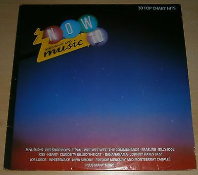 """NOW THAT'S WHAT I CALL MUSIC 10 original 1987 12"""" double vinyl record Now 10"""