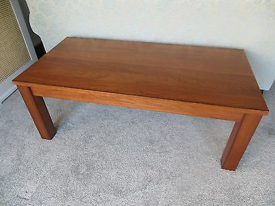 Teak solid wood coffee table