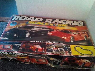 Road Racing Scalextric *untested *spares boxed