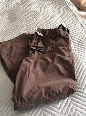 pro climate convertible walking trousers  size 20 r