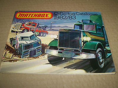 Matchbox Toy Catalogue 1982/83 Uk Edition Excellent Condition For Age