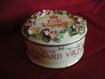 Edward V111 Crown Staffordshire Box Coronation 1937.