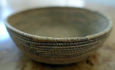 Small  Finely Hand  Woven Indian Basket.