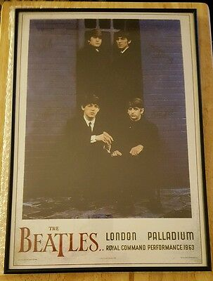 The Beatles - Concert Poster Palladium London 1963    (A3 Size)