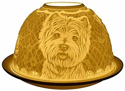 Candle Holder Westie Dogs