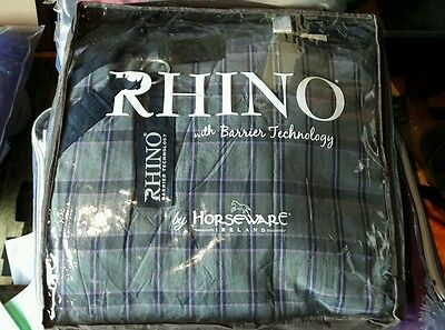 Horseware Rhino M/W turnout rug with detachable neck 7'0 RRP £152.95