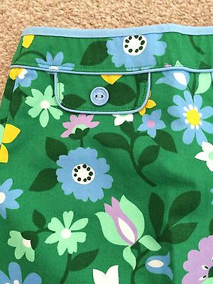 Little Bird Jools Oliver Mothercare Floral A Line Skirt Retro Green Purple 2-3