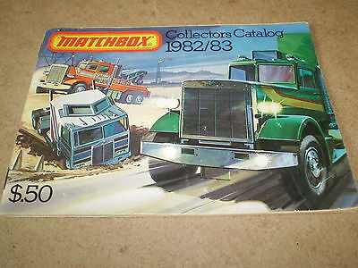 Matchbox Toy Catalogue 1982/83 Usa Edition Excellent Condition