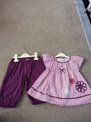 Girls Monsoon Top and Trouser Set, Size 2-3
