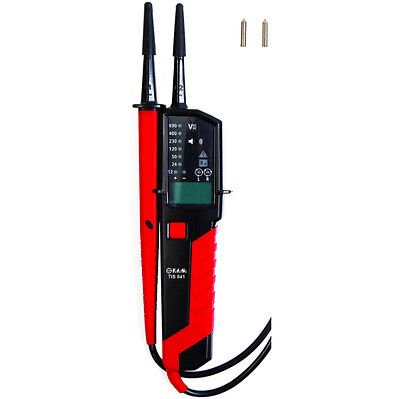 TIS 841 AC/DC voltage and continuity tester with phase rotation
