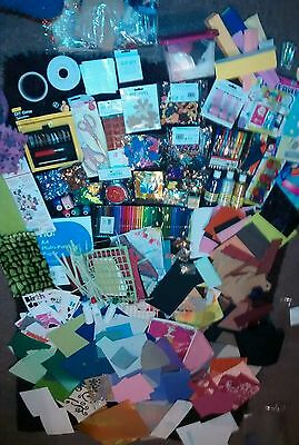 JOBLOT Card making CRAFT scrapbooking  embellishments crafting clearout die cut