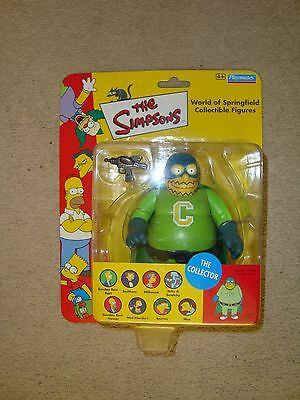 THE SIMPSONS WOS World of Springfield THE COLLECTOR FIGURE BNIB PLAYMATES RARE