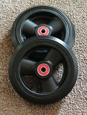 """5"""" X 1"""" Tilite Wheelchair Front Casters, BRAND NEW"""