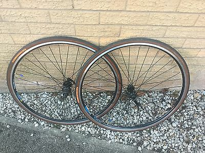 Road Bike Wheels And Continental Tyres 700C