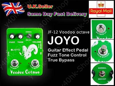 New JOYO JF-12 Voodoo Octave Guitar Effect Pedal Fuzz Tone Control True Bypass
