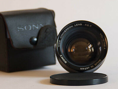Sony Wide-Conversion Lens X.07 Vcl-0758A