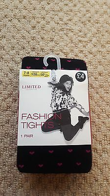 BNWT Marks and Spencer Girls Tights age 7-8yrs