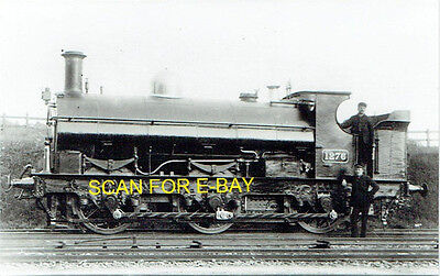 """Railway Photo GWR 1076 or """"Buffalo"""" class 060ST No 1276 at Unknown Location"""