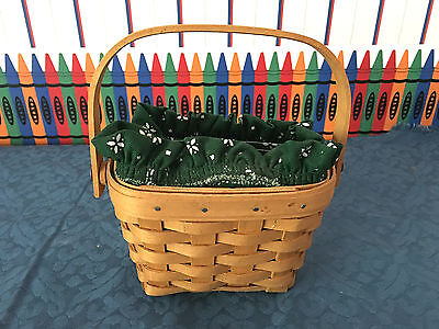 Longaberger American Cancer Society Horizon of Hope Basket (Protector & Liner)