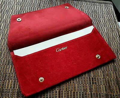 Cartier sunglasses jewelry leather envelope