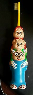 1984 chipmunks tooth brush collectable Bagdasarian productions