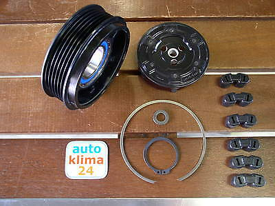 Air conditioning compressor Pulley Clutch Mercedes A B Class 160 180 CDI W245
