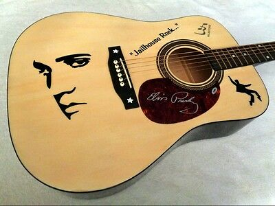 ELVIS PRESLEY Limited Edition Tribute Acoustic Guitar - NEW!