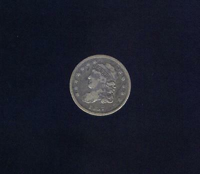 Very Fine 1837 Last Year Of issue  Older Bust Half Dime,  Free USA Shipping
