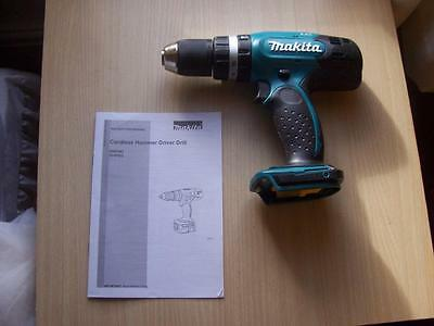 "Makita  Dhp453  18V Lxt Lithium-Ion Drill ""new"""