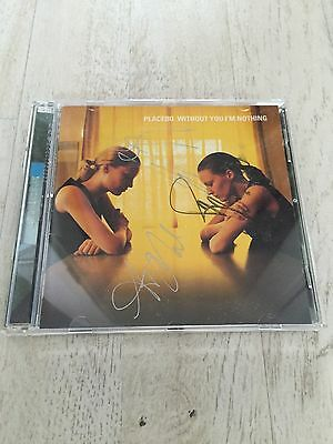 Rare Australia Double CD Without I'm Nothing Placebo SIGNED 1999 Lineup