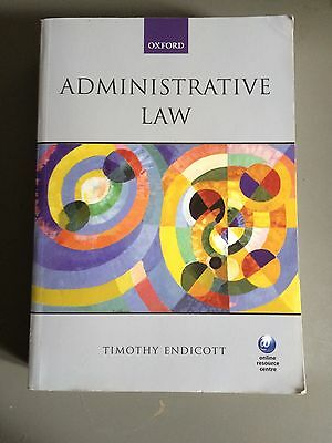 Administrative Law by Timothy Endicott - 2009