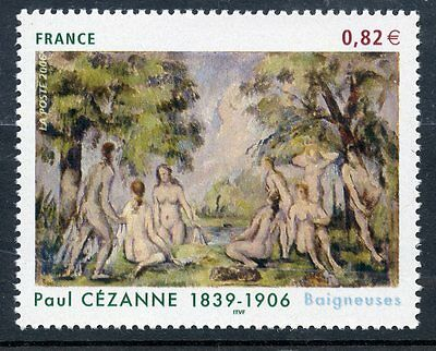 Stamp / Timbre France  N° 3894 ** Art Tableau / Paul Cezanne