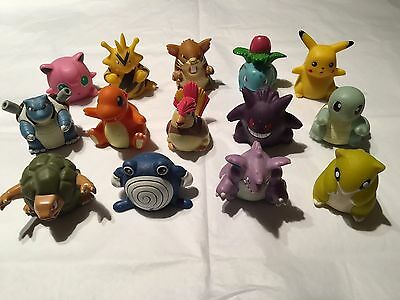 Rare Selection of 14 Pokemon Sliders - Vintage set of 1999/2000 Battle Rollers